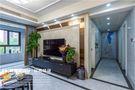 80平米三英伦风格客厅装修案例
