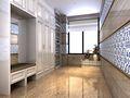 15-20万120平米三室两厅英伦风格衣帽间装修图片大全