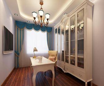 130平米四室一厅地中海风格书房欣赏图