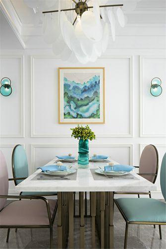 经济型120平米四室两厅地中海风格餐厅图