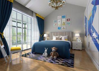 140平米别墅新古典风格儿童房装修案例