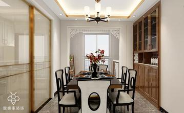 90平米三室三厅中式风格餐厅效果图