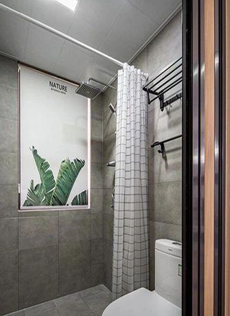 120平米三室两厅北欧风格卫生间图片大全
