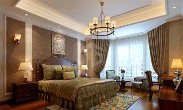 140平米别墅欧式风格卧室背景墙图片