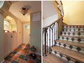 15-20万140平米复式田园风格楼梯设计图