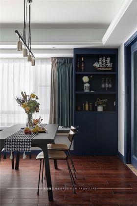 120平米三室一廳現代簡約風格餐廳裝修圖片大全