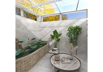 50平米现代简约风格阳台装修效果图