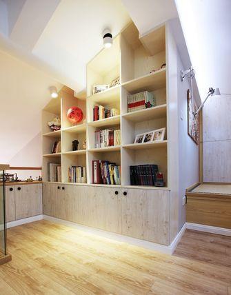 50平米复式田园风格书房装修效果图