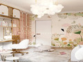 120平米四室两厅美式风格儿童房图片
