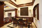 110平米三室一厅东南亚风格餐厅效果图