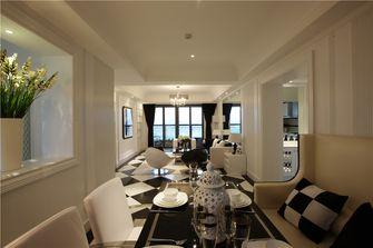 130平米三室两厅新古典风格餐厅设计图