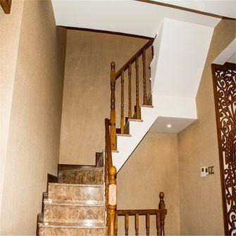 140平米三室两厅地中海风格楼梯间装修图片大全