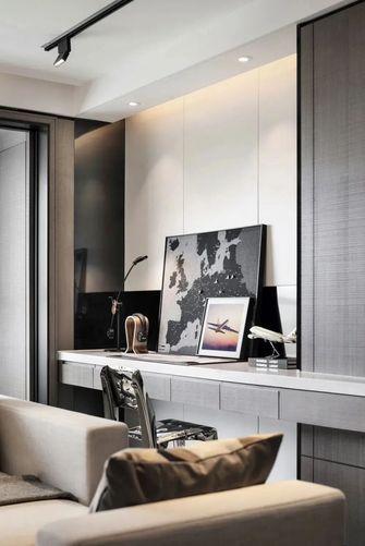 120平米现代简约风格书房图片
