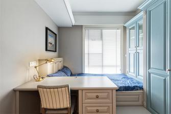 140平米公寓美式风格卧室设计图
