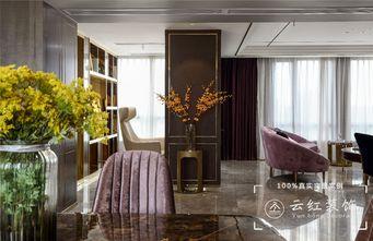 120平米复式现代简约风格客厅装修图片大全