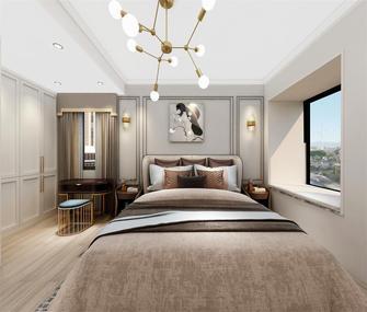 80平米三室两厅宜家风格卧室装修图片大全