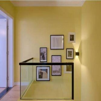 100平米复式混搭风格楼梯间图片