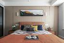 140平米三室两厅英伦风格卧室图片