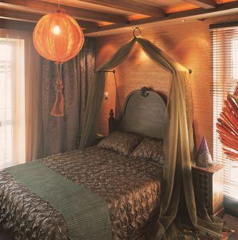 100平米东南亚风格卧室装修图片大全