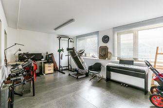 140平米四现代简约风格健身室装修案例