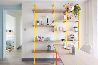 80平米三室两厅混搭风格餐厅装修案例