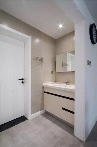 100平米三室两厅日式风格卫生间装修案例