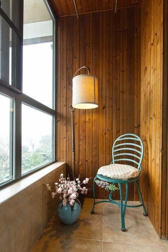 140平米三室两厅法式风格阳台效果图