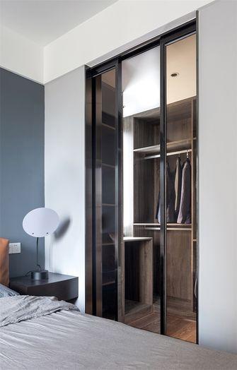 90平米三室一厅现代简约风格衣帽间设计图