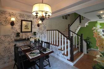 10-15万140平米别墅田园风格楼梯设计图