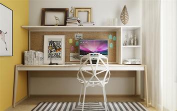 90平米公寓欧式风格书房图片