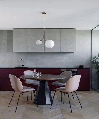 110平米三室两厅英伦风格餐厅装修效果图