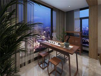 130平米三室两厅中式风格阳台效果图