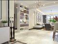 130平米三室两厅英伦风格走廊装修图片大全