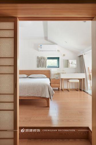 120平米复式日式风格阁楼效果图