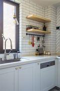 20万以上120平米北欧风格厨房欣赏图