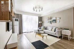 140平米三室兩廳北歐風格客廳裝修案例