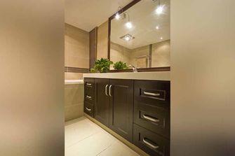 富裕型110平米中式风格卫生间装修案例