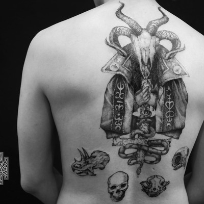 #写实纹身款式图