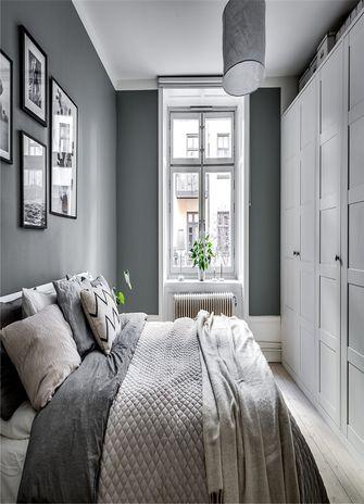 50平米北欧风格卧室装修效果图