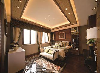 70平米东南亚风格卧室图