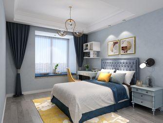 120平米四室一厅北欧风格卧室设计图