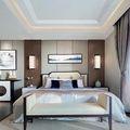 90平米三室两厅中式风格卧室效果图