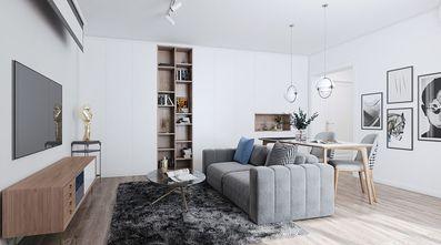 50平米公寓现代简约风格客厅图片