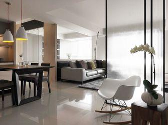 100平米三室五厅现代简约风格客厅设计图