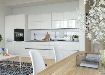 70平米公寓北欧风格厨房效果图
