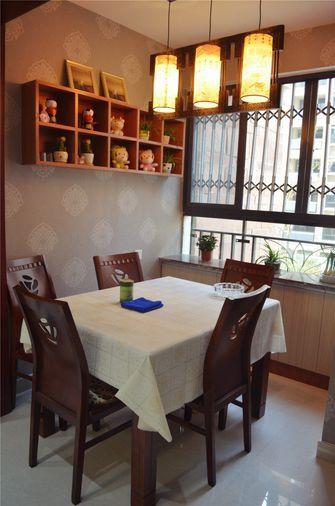 经济型120平米一室两厅欧式风格餐厅装修案例