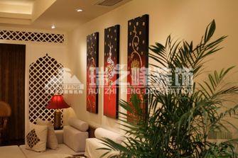 富裕型140平米四室两厅东南亚风格玄关欣赏图