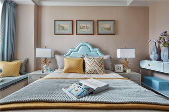 140平米三室四厅美式风格卧室图片大全