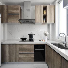 130平米四室一廳現代簡約風格廚房裝修案例