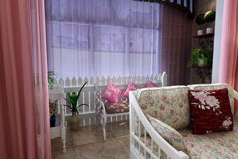 130平米三室两厅田园风格阳光房装修案例